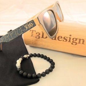 Other - Wooden Sunglasses - Bamboo - Wayfarer - Grey